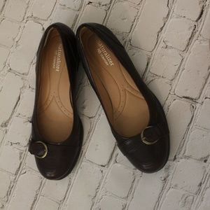 Naturalizer Shoes - Naturalizer brown leather upper shoes size 7.5